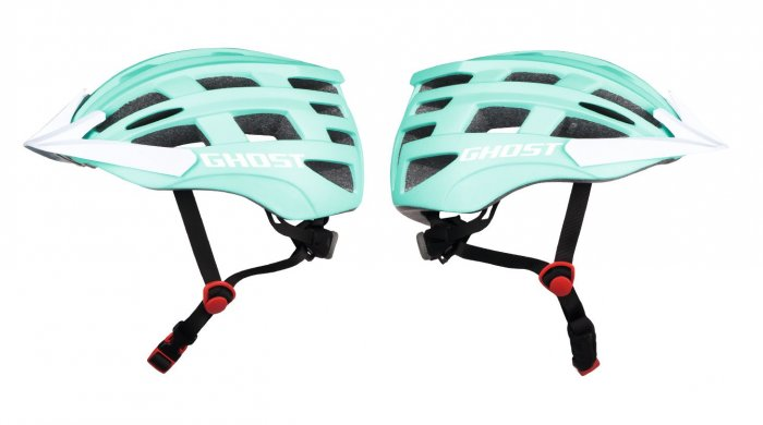 GHOST Jugend Helm jade blue / star white 54-58cm