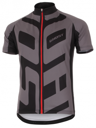 GHOST Radtrikot kurz Cross Jersey short black/grey 2017
