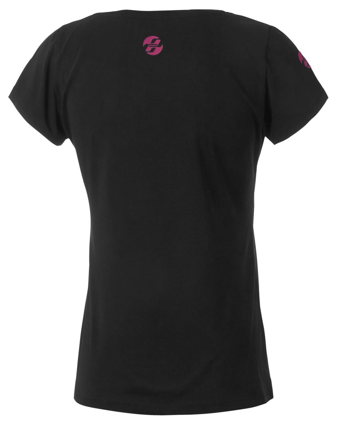 ghost damen t shirt dreamr schwarz gr n pink. Black Bedroom Furniture Sets. Home Design Ideas