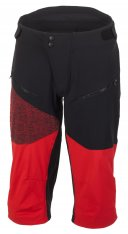GHOST Ridge Line Shorts blk/red
