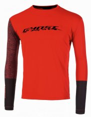 GHOST Ridge Line Jersey Long red/blk