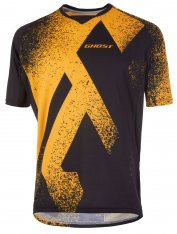 GHOST MTN Ride Line Jersey Short - spectra yellow / night black