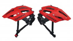 GHOST Helm ALLTRACK BY CRATONI riot red / night black