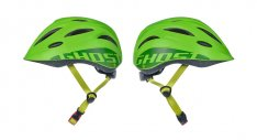 GHOST Kinder Helm riot green / lime green 52-56cm