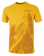 GHOST MTN Casual Line Peak T-Shirt - Spectra Yellow / Shadow Yellow