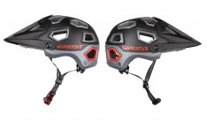 GHOST Helm ALL MOUNTAIN // Enduro night black / titanium gray / riot red